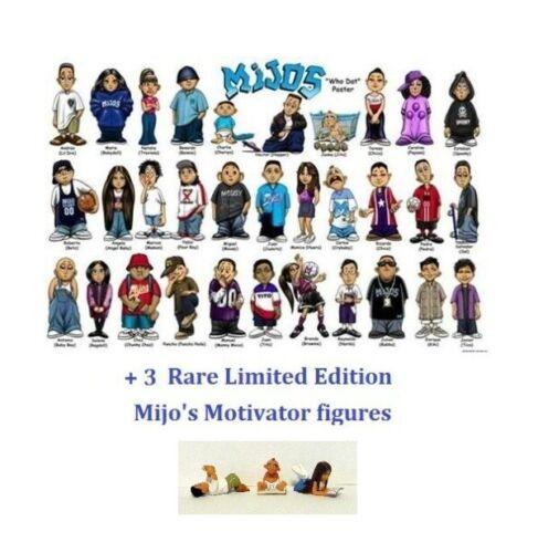 Homies mijos-All 4 Series 1 3 /& 4 plus les rares Motivator Set Figure 2