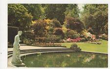 Japanese Azaleas Cascade Rockery Hever Castle Kent Postcard 433a