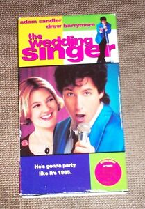 Image Is Loading THE WEDDING SINGER VHS 1998 Adam Sandler Drew