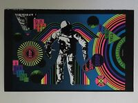 Fly Carefully Astronaut & The Losers Pusher Man Blacklight 2 Poster Pin-up Print