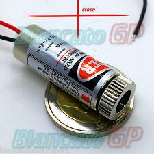 MODULO LASER 650nm CROCE ROSSA diodo puntatore diode pointer puntero 3v 5v DC