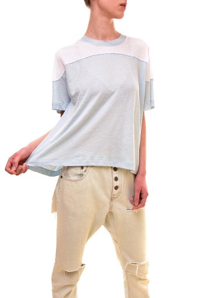 Wildfox donna Autentico Samuel shirt Bianca Taglia S Prezzo Consigliato  BCF83