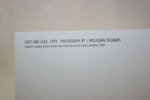"Kunst-Postkarte WOLFGANG TILLMANS : /""LUTZ AND ALEX/"" II 1992"
