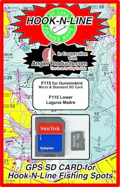Angler Products Uploadable Fishing Hotspots for Lower Laguna Laguna Laguna TX - HookNLine Map 6f58c4