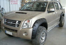 Fender flares wheel arches for  ISUZU D-MAX Chevrolet Holden Rodeo GMC Canyon