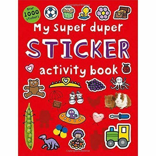 1 of 1 - My Super Duper Sticker Activity Book by Roger Priddy (Paperback, 2015)