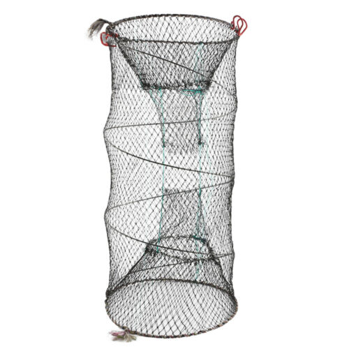 2X Large NET CRAB TRAP LOBSTER EEL SHRIMP CRAYFISH BAIT FISHING POT BASKET