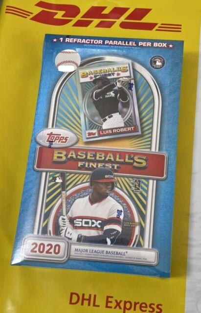 2020 Topps Finest Flashbacks Baseball Factory Sealed Hobby Box