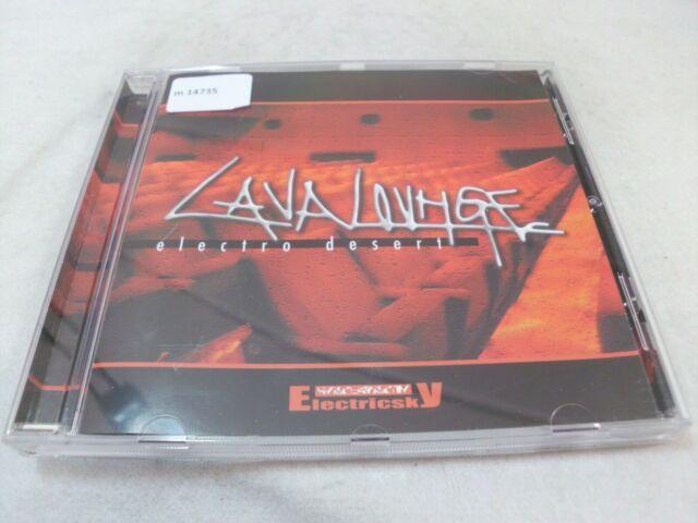 Lava Lounge - Electro Desert  - CD gebraucht  gut.