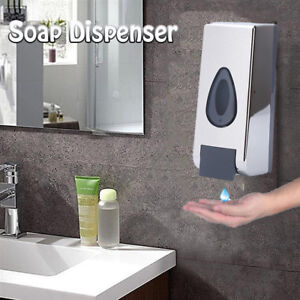 Image Is Loading 360ml 600ml Wall Mounted Soap Dispenser Bathroom Kitchen