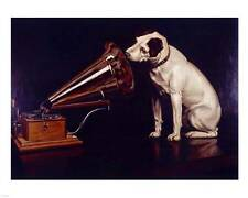 NEW His Masters Voice Fine Art Print Music Home Wall Decor 698095 Gramophone