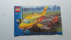 LEGO-CITY-INSTRUCTIONS-ONLY-FOR-7732-POSTAL-PLANE