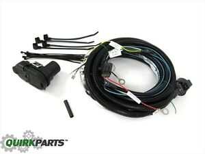 Details about 11-13 Jeep Grand Cherokee Dodge Durango TRAILER TOW WIRING on