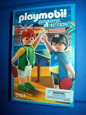 PLAYMOBIL 5197 Table Tennis Sports & Action  ~ NEW Sealed Retired