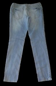 Mossimo-Light-Mid-Rise-SKINNY-Jeans-Women-039-s-Size-4
