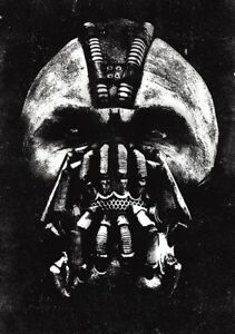 The Dark Knight Rises Movie Photo Print Poster Batman Tom Hardy Bane Textless 12 Ebay