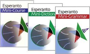 Esperanto Mini-Trio (pack). Mini-course, Mini-grammar & Mini-dictionary.