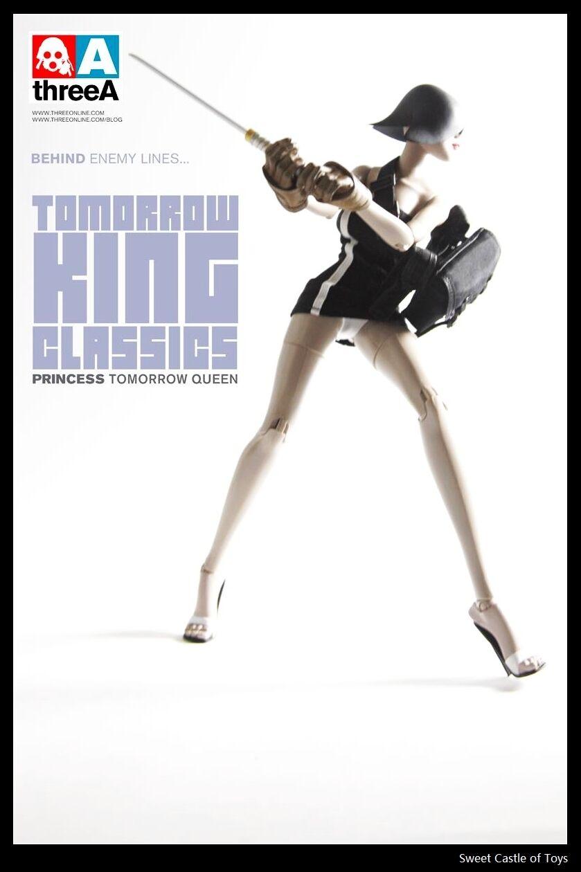 1/6 threeA Ashley Wood pobbot mañana Rey Classics Princesa mañana reina tq