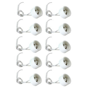 10PCS-250V-2A-GU10-Lamp-Socket-Lamp-Base-Holder-Adapters-with-Wire-Connector-FD8