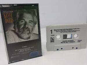 KENNY ROGERS - We've Got Tonight - Cassette Tape 1983