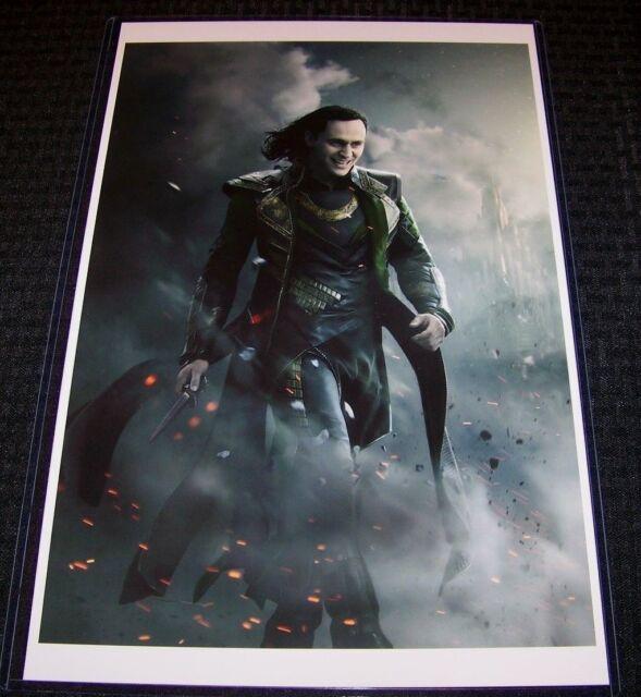 Tom Hiddleston Thor Loki Movie Film Giant Art Print Home Decor Poster