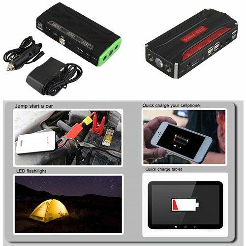 30000/50800/68000mAh Car Emergency Start Power Bank Vehicle Starter Booster LO