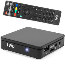 TVIP V.412 V2 IPTV SET TOP BOX Multimedia Player Internet TV USB HDMI 1080p