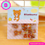 80 Pc Pk Rilakkuma Mini Stickers ~ Cute Cartoon Scrapbooking Decorative Sticker