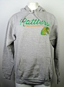 Florida-A-amp-M-University-Rattlers-Women-039-s-Gray-Pullover-Hoodie-NCAA-S-M-L-XL-XXL