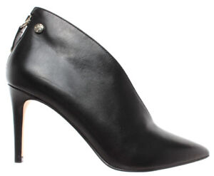 info for b6481 3056e Details about Women's Decollete GUESS FL7BOALEA09 Leather Black