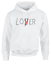 Lover-Not-A-Loser-Funny-Printed-Adults-Hoodie-Warm-Hooded-Hoody-Mens-Womens thumbnail 1