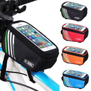 Bicycle-Cycling-Bike-Frame-Front-Tube-Bag-Waterproof-Mobile-Phone-Holder-Pouch