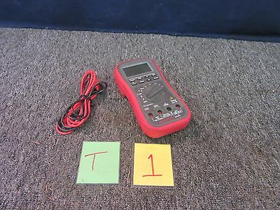 AMPROBE AM-270 INDUSTRIAL MULTIMETER TEST TRMS BAR GRAPH DIGITAL ELECTRICAL USED