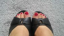 Well worn womens high heel wedge shoes 6.5