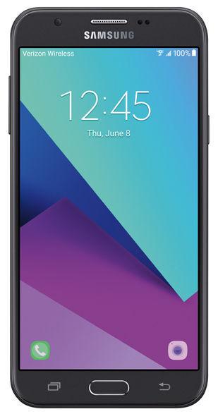 Samsung J3 Eclipse SM-J327V - 16GB - Black (Verizon) Smartphone