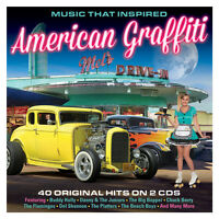 Music That Inspired American Graffiti Various Artists Best Of 40 Songs 2 Cd