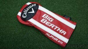 Neuf-2015-Callaway-Big-Bertha-Alpha-815-Couvre-Club-Avec-Cle