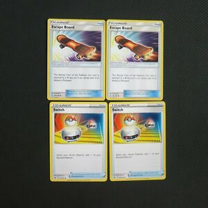 Escape Board 122/156 Switch 183/202 Pokemon Card TCG