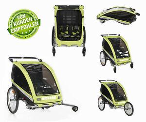 Kidscab Cares For 2 Child Bike Trailer Stroller Jogger