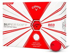 Callaway-Supersoft-Golf-Balls-1-Dozen-Red-Mens