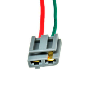 Details About Best Dual Pigtail Wire Harness Connector Gm Hei Coil In Cap Distributor 170072