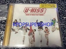 U-Kiss Single Album - Bring It Back 2 Old School CD Great Cond. Rare OOP UKISS