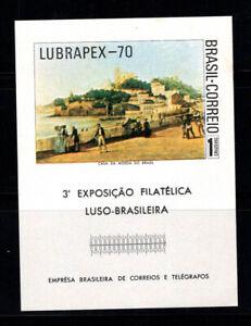 Brazilien 1970 Mi. Bl. 27 Block 100% Postfrisch LUBRAPEX
