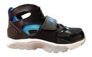 info for df891 0d26e Image is loading Juniors-Nike-Flight-Huarache-Run-GS-Black-Blue-