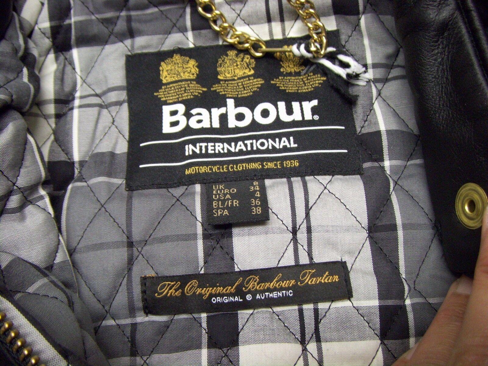 BARBOUR INTERNATIONAL VANIER WAX JACKET Size 4 US - image 8