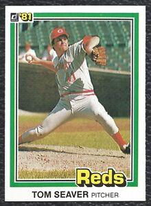 1981-Donruss-Tom-Seaver-Vintage-Baseball-Card-422-Cincinnati-Reds-HOF-NMMT-MINT