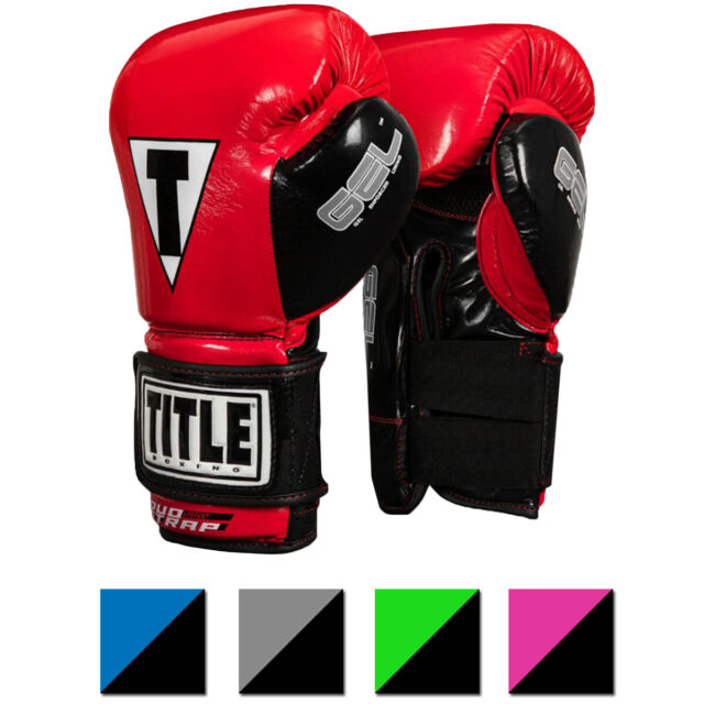 Title Boxing Equipment Gear Red Bag