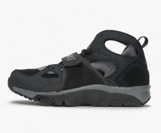 Nike Air Trainer Huarache Gr 43 44 black cool grey 679083 019