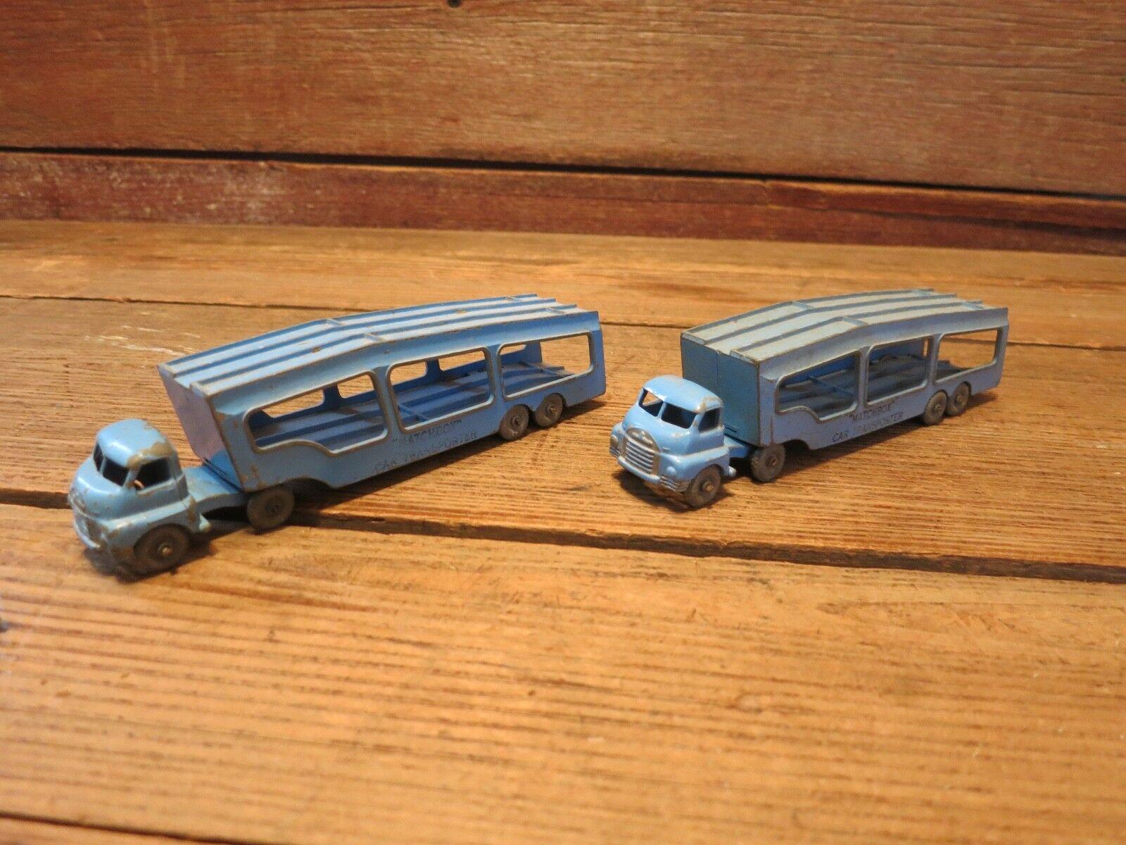 Jahrgang lesney matchbox auto - - - transporter 2 1644b5