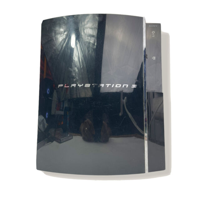 Sony Playstation 3 Launch Edition 20gb Black Console For Sale Online Ebay